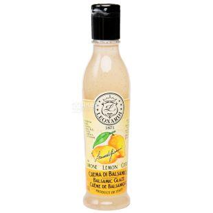 Leonardi, Бальзамічна глазур біла зі смаком лимона, 220 г