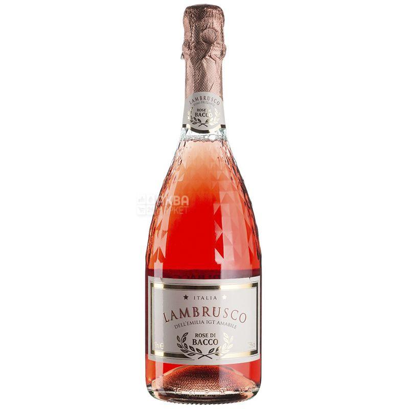 Chiarli, Rose di Bacco Lambrusco, Шампанское, 0,75 л