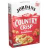 Jordans, Сountry Crisp, 500 г, Кранчи Джорданс, Кантри Крисп, овсяные, с клубникой, органические
