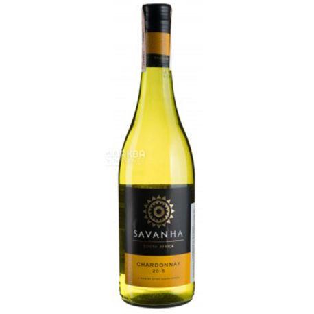 Spier Wines Chardonnay Savanha, Вино белое сухое, 0,75 л