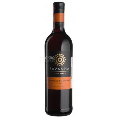 Spier Wines Pinotage / Shiraz Savanha, Вино червоне сухе, 0,75 л
