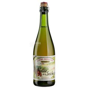 Cidre Brut Vallee de la Seiche, Сидр яблочный, 0,75 л