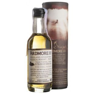 Ardmore Distillery Ardmore Traditional Cask Peated, Віскі, 46 %, 0,05 л