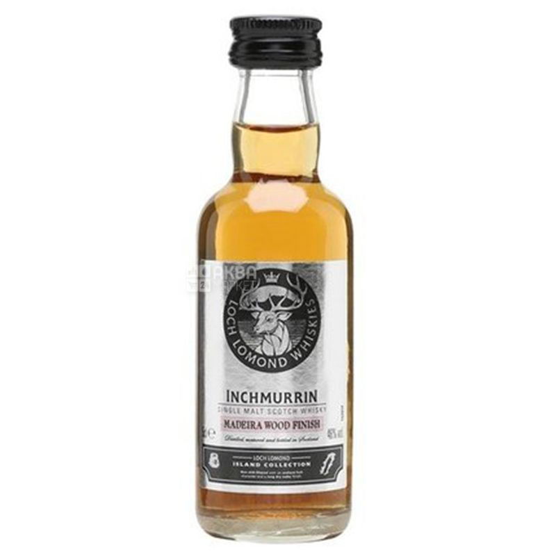 Inchmurrin Madeira, Виски, 46 %, 0,05 л