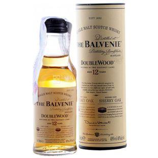 Balvenie 12 yo Double Wood, Виски, 40 %, 0,05 л