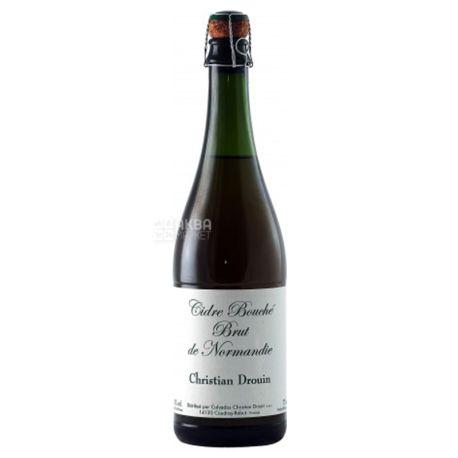 Christian Drouin Cidre Bouche Brut, Сидр, 0,75 л