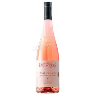 Chatelain Desjacques Rose d'Anjou, Semi-sweet pink wine, 0.75 l