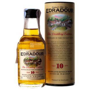 Edradour 10 yo, Whiskey, 40%, 0.05 L