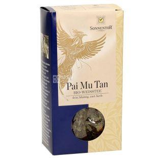 Sonnentor, Pai Mu Tan, 40 г, Чай Соннентор, Пай Ма Тан, білий