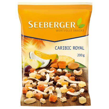 Seeberger, Тропическая смесь сухофруктов и орехов, 200 г