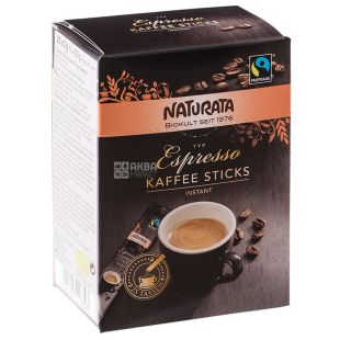 Espresso coffee soluble in natural waters 25x2g, Naturata