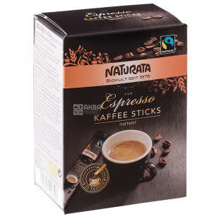 Naturata Espresso, Кофе растворимый органический в стиках, 25 x 2 г