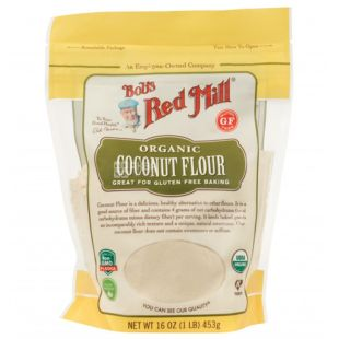 Organic coconut flour without gluten 453g, Bob's Red Mill