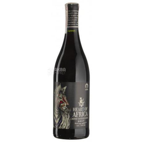 Heart of Africa, Cabernet Merlot, Вино красное сухое, 0,75 л