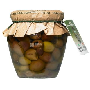 Frantoio di Sant'agata Taggiasche, Olives Tagzaske without stone in oil, 180 g