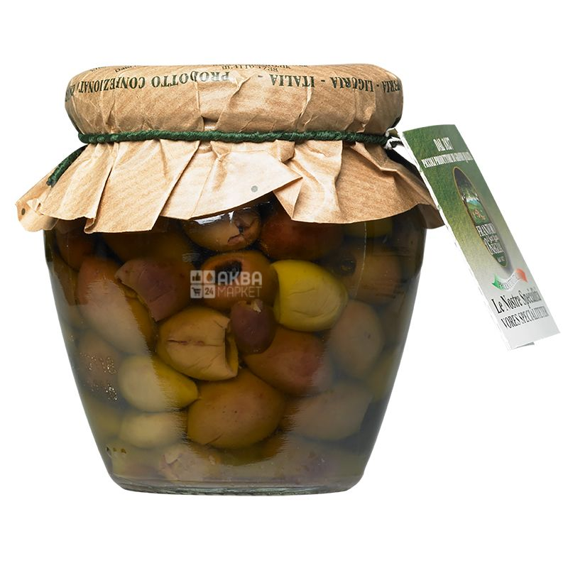 Frantoio di Sant'agata Taggiasche, Olives Tagzaske without stone in oil, 180 g