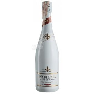 Henkell Blanc de Blancs, Вино ігристе біле сухе, 750 мл