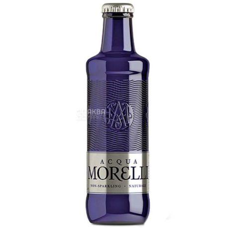 Acqua Morelli, 0,25 л, Аква Морелли, Вода минеральная негазированная, стекло