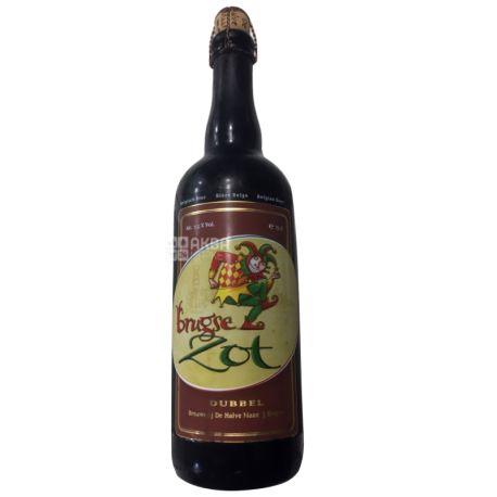 Brugse Zot Dubbel, Пиво темное, 0,75 л