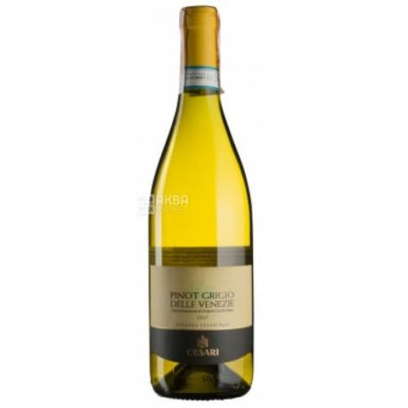 Cesari Pinot Grigio delle Venezie DOC, Вино белое сухое, 0,75 л