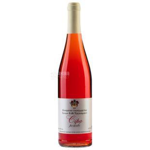 Dry pink wine Syrah, 0.75 l, TM Prince PN Trubetskoy