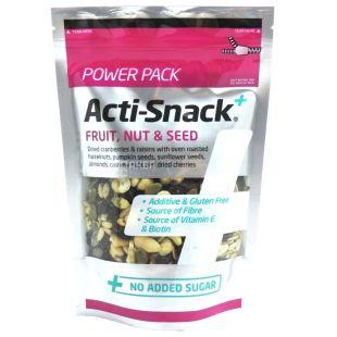 Acti-Snack, Суміш фруктів, горіхів та насіння, сушена, 250 г