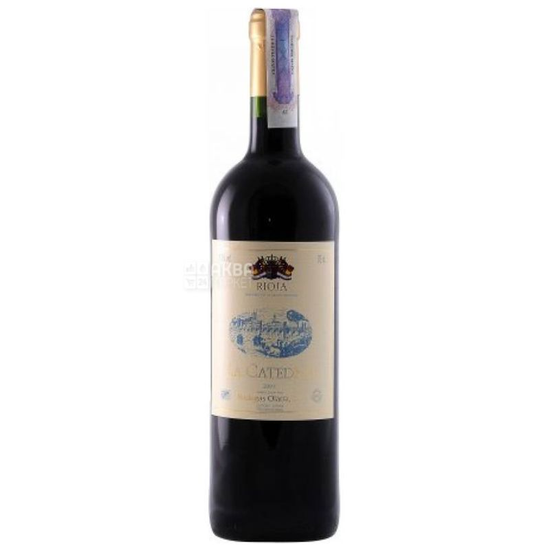 Bodegas Olarra La Catedral, Вино красное сухое, 0,75 л