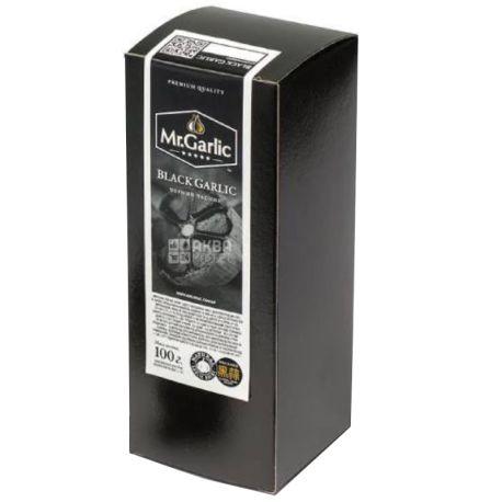 Mr. Garlic, Часник чорний ферментований, 100г