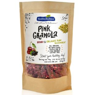 Healthy Tradition, Granola with berries and green buckwheat, 200g