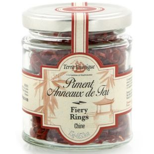 Terre Exotique, Chilli Peppers, rings, skovill 5/10, 15g