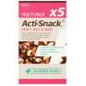 Acti-Snack, Суміш фруктів, горіхів та насіння сушені, 5х35 г