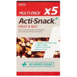 Acti-Snack, Смесь фруктово-ореховая, 5х35 г