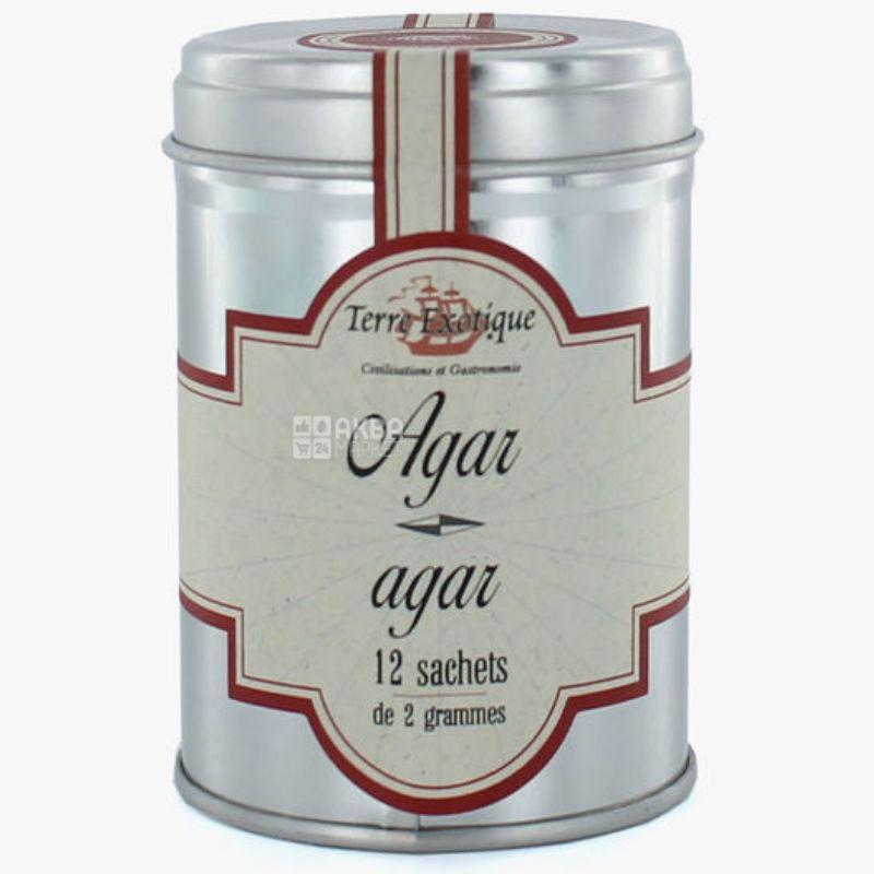 Terre Exotique, Агар агар, 24 г