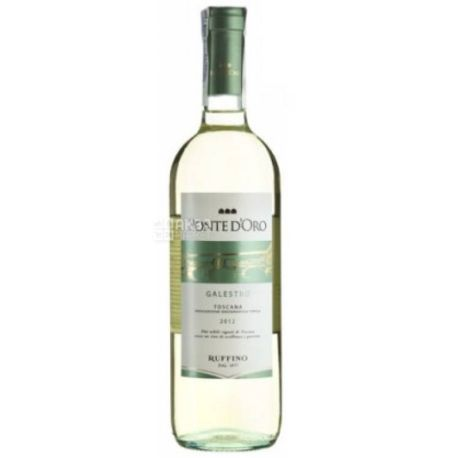 Ruffino, Ponte d'Oro Galestro, Вино белое сухое, 0,75 л