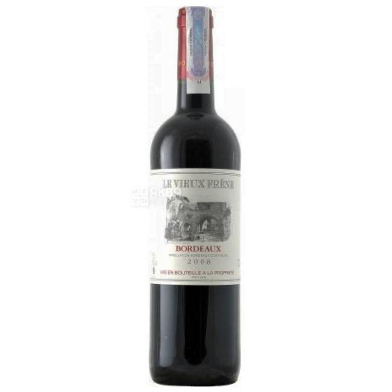 Chateau Vieux Frene, Le Vieux Frene, Вино красное сухое, 0,75 л