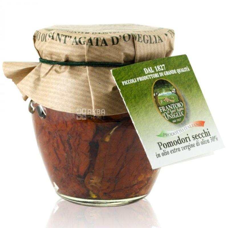 Frantoio di Sant'agata, Томаты органические, в оливковом масле Extra Virgine, 150 г