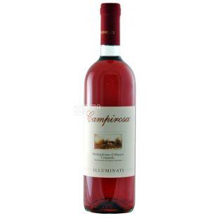 Illuminati Dino, Вино розовое сухое, Campirosa  0,75 л