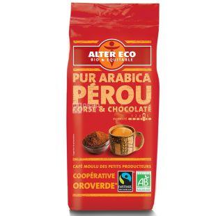 Alter Eco, Pur Arabica Perou, 260 г, Кофе Алтер Эко, Перу, молотый, органический