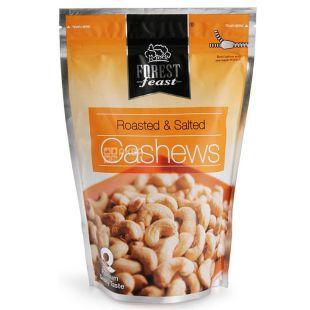 Forest Feast, Орехи кешью жареные соленые, 250 г