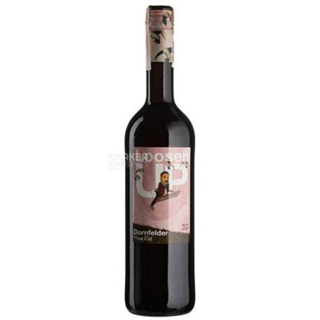 Loosen UP, Dornfelder, Вино красное полусладкое, 0,75 л