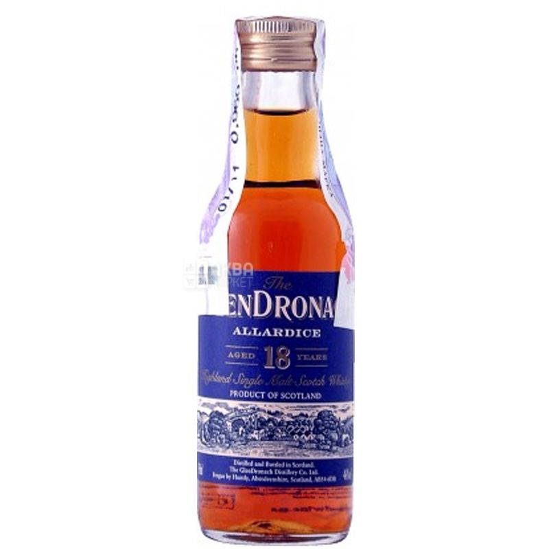 Glendronach, Allardice 18 y.o., Виски, 0,05 л