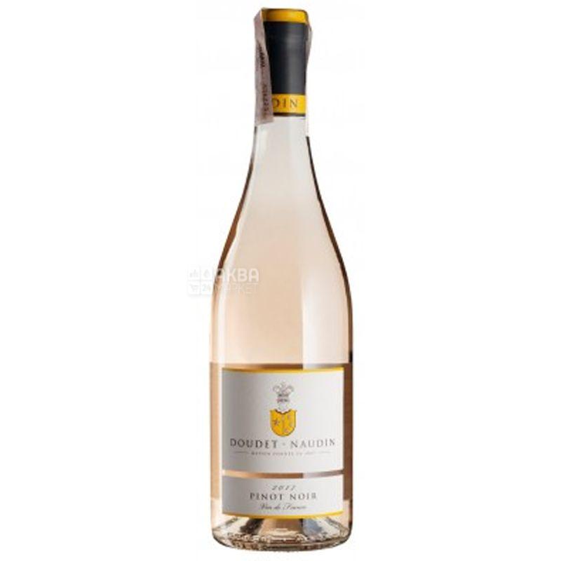 Doudet Naudin, Vin de France Pinot Noir Rose, Вино розовое сухое, 0,75 л