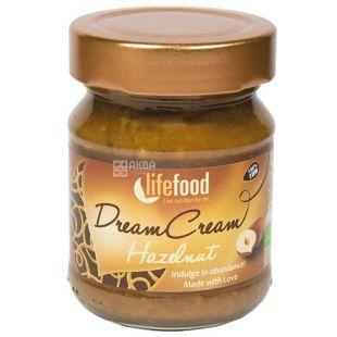 Lifefood, Крем-паста из сырых лесных орехов органическая, 150 г