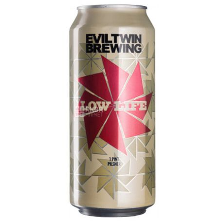 Evil Twin Brewing, Low Life, Пиво стаут, 0,473 л