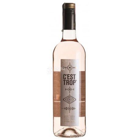 Saint Tropez, C'Est Trop, Вино розовое сухое, 0,75 л