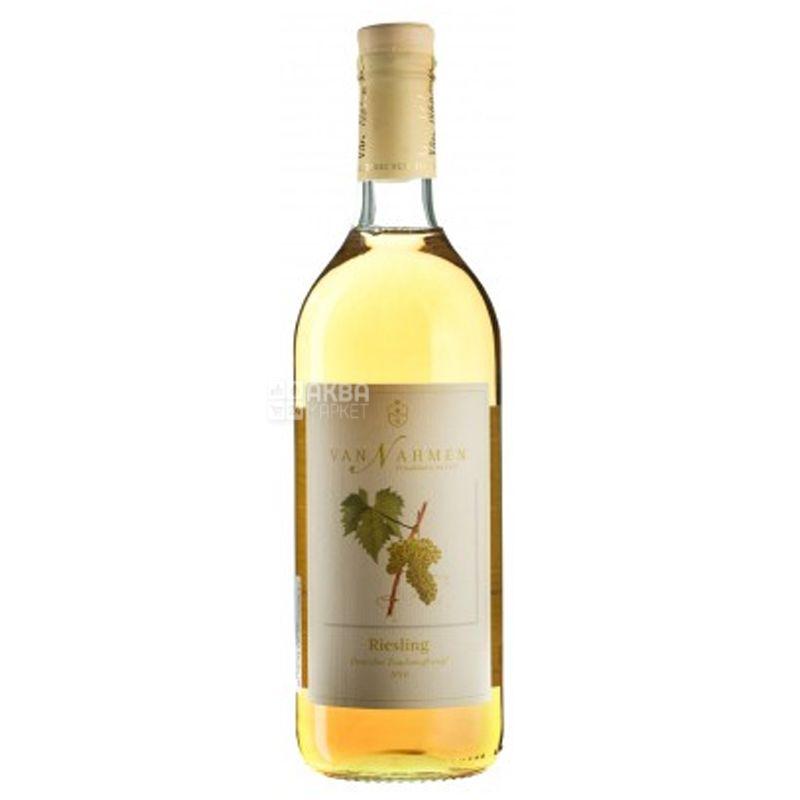 Van Nahmen, Riesling, 0,75 л, Ван Намен, Сок виноградный сорта Рислинг, стекло