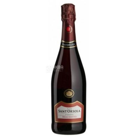 Sant'Orsola, Brachetto Piemonte, Ігристе рожеве вино, 0,75 л