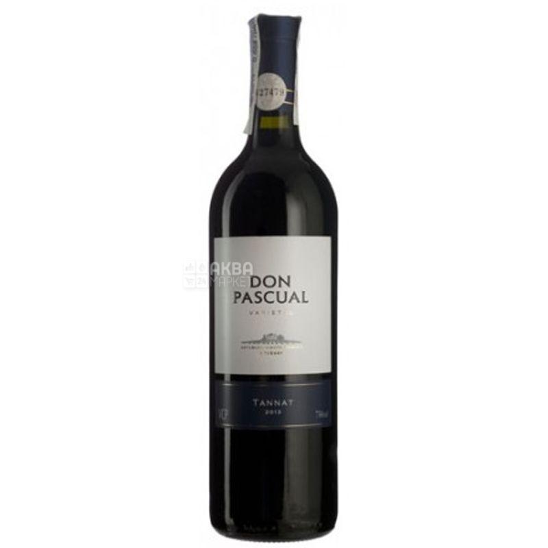 Don Pascual, Tannat, Вино красное сухое, 0,75 л
