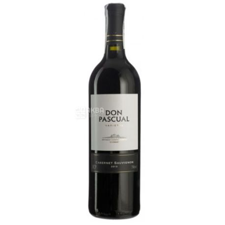 Don Pascual, Cabernet Sauvignon, Вино червоне сухе, 0,75 л