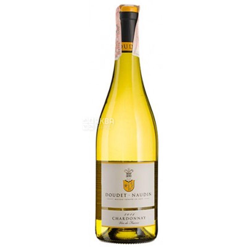 Doudet Naudin, Chardonnay, Вино белое полусухое, 0,75 л